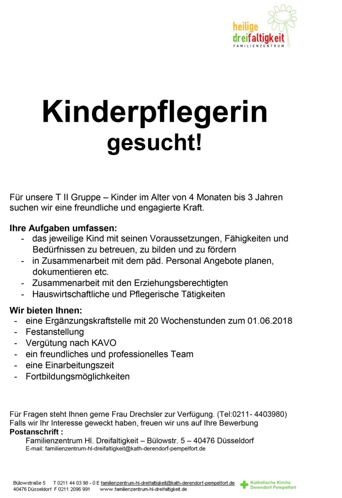 Bewerbung Kinderpflegerin Bewerbungsvorlage