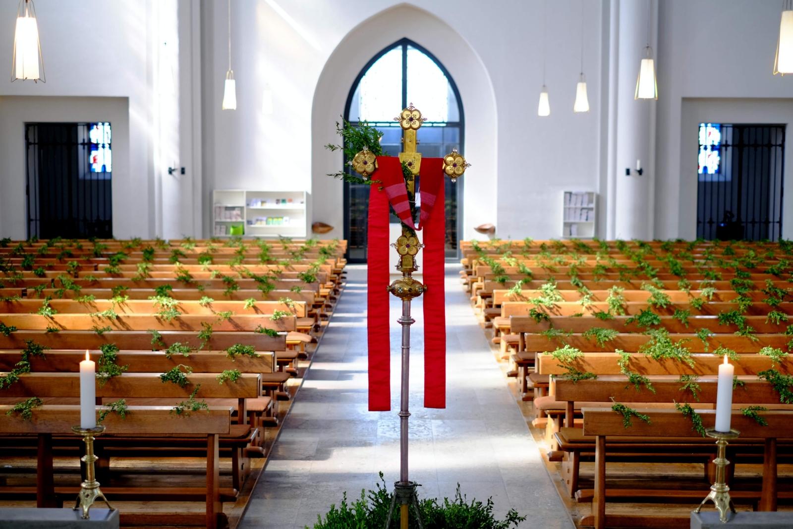 Katholische Kirche Derendorf Pempelfort in Düsseldorf